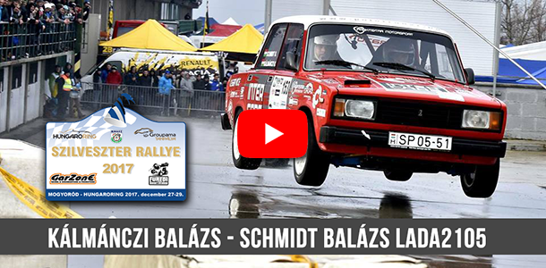 Kálmánczi-Schmidt Szilveszter Rally OnBoard