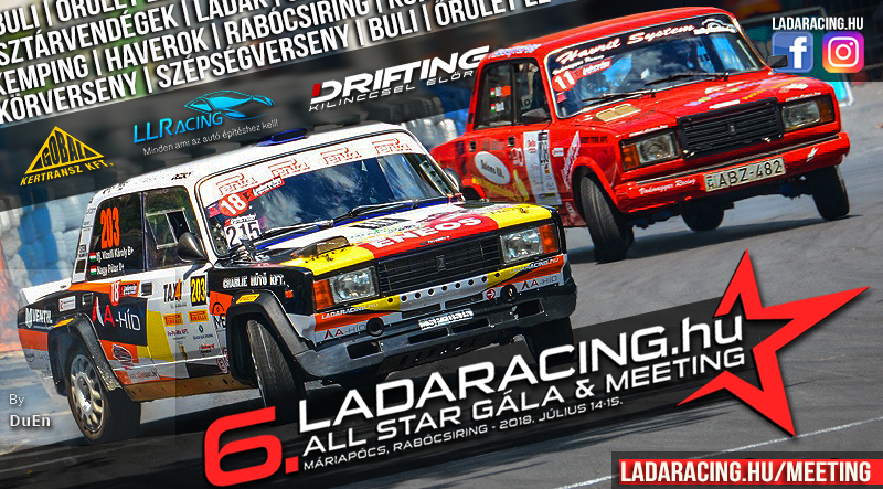 6. Ladaracing.hu All Star Gála & Meeting