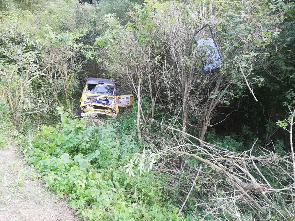 Lada Eger crash borulás 2020