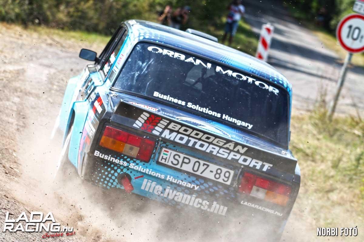 Bodogán Ferenc Velezdi Eszter Lada VFTS Eger Rally