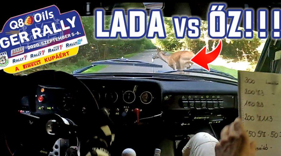 Axel – Sumalán Eger Rally Gy7 őz elütés!