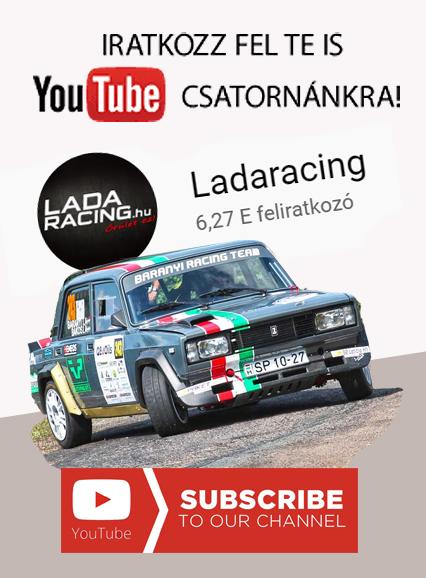 Ladaracing Youtube feliratkozás