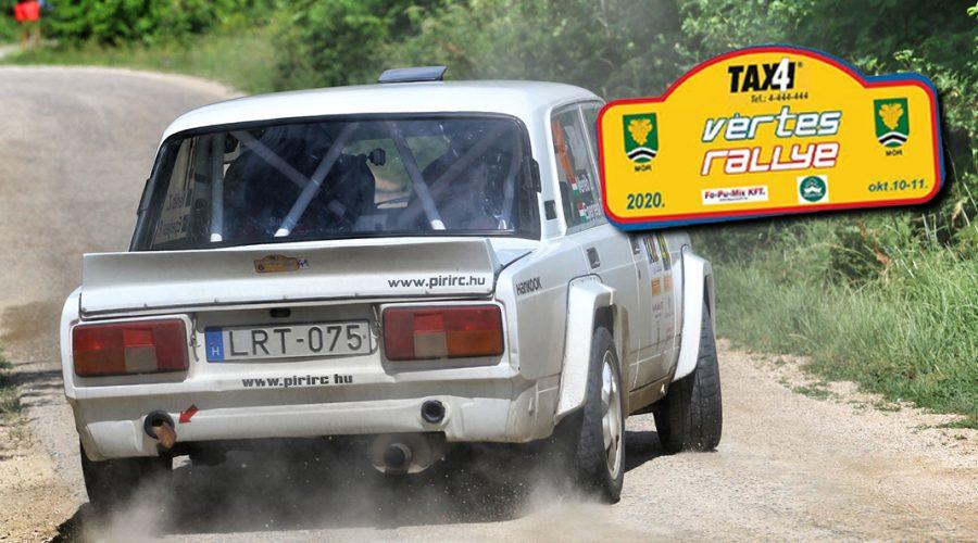 Vértes Rally pályaajánlók!
