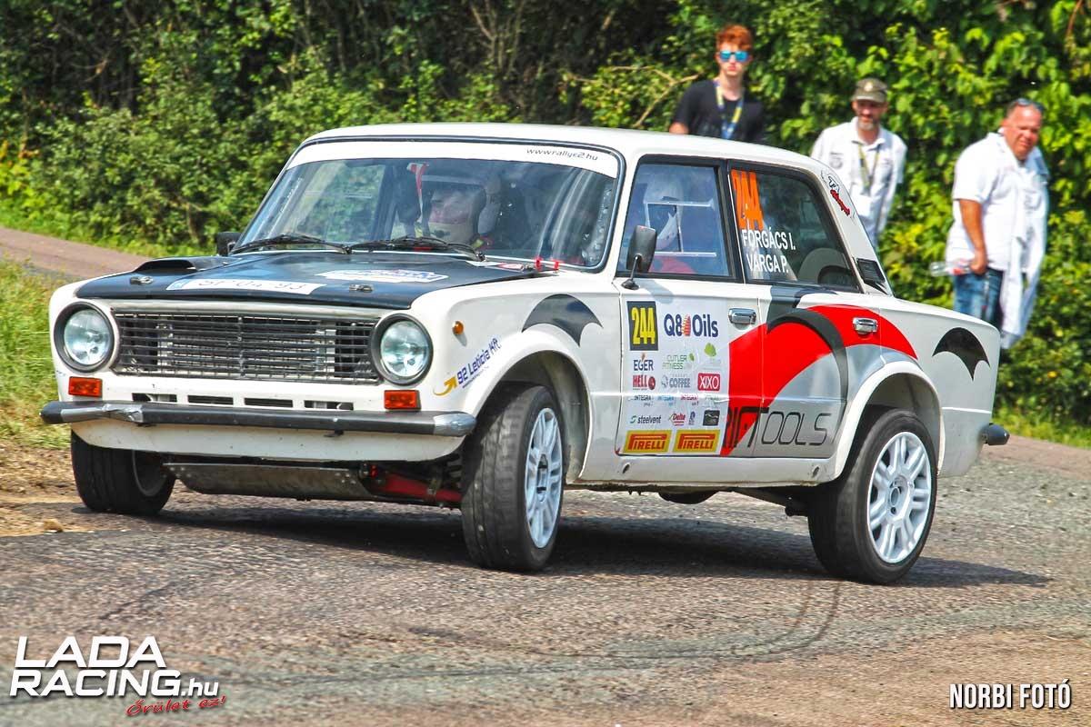 Forgi Pötyi Lada 2101 Eger Rally