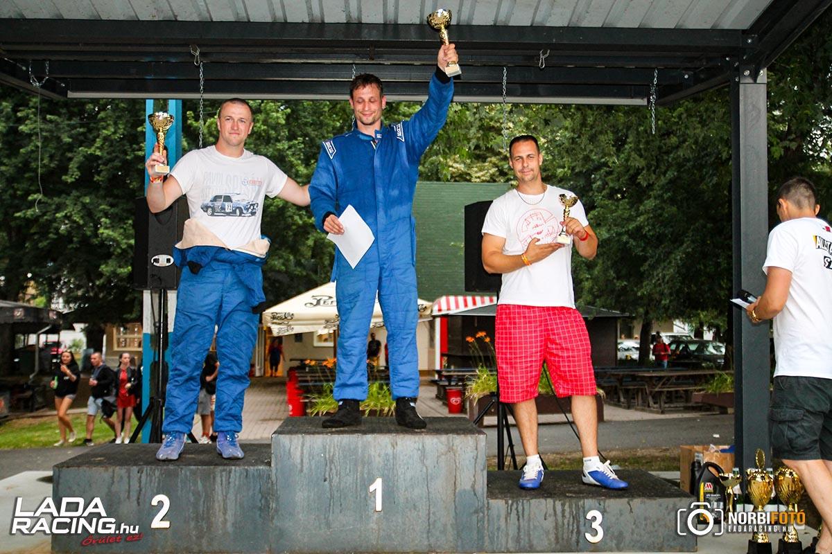 Lada körverseny díjátadó