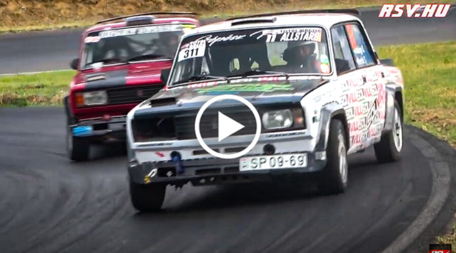 The Best of 9. LADA Racing All Star Gála & Time Attack | Maximum Attack, Crash & Mistakes | RSV