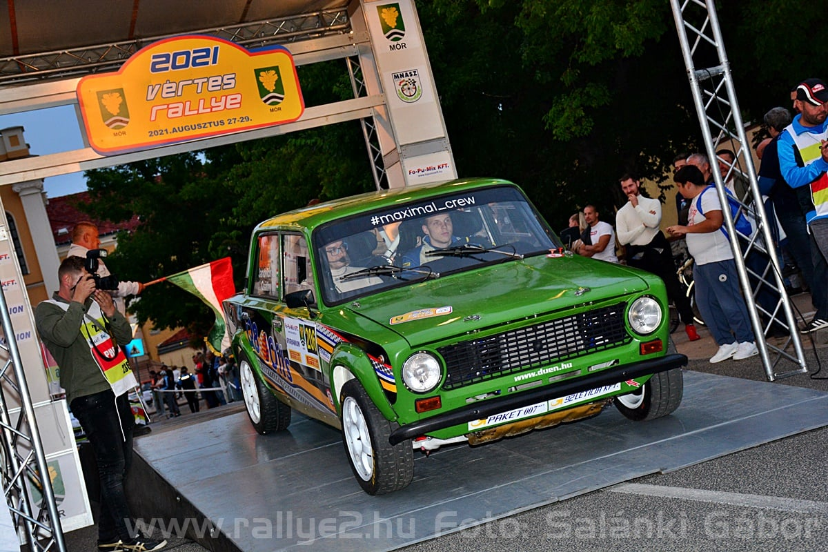 Janovich vértes rally 2021crash
